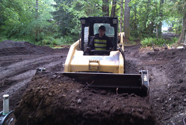Septic Site Work in Mccleary WA
